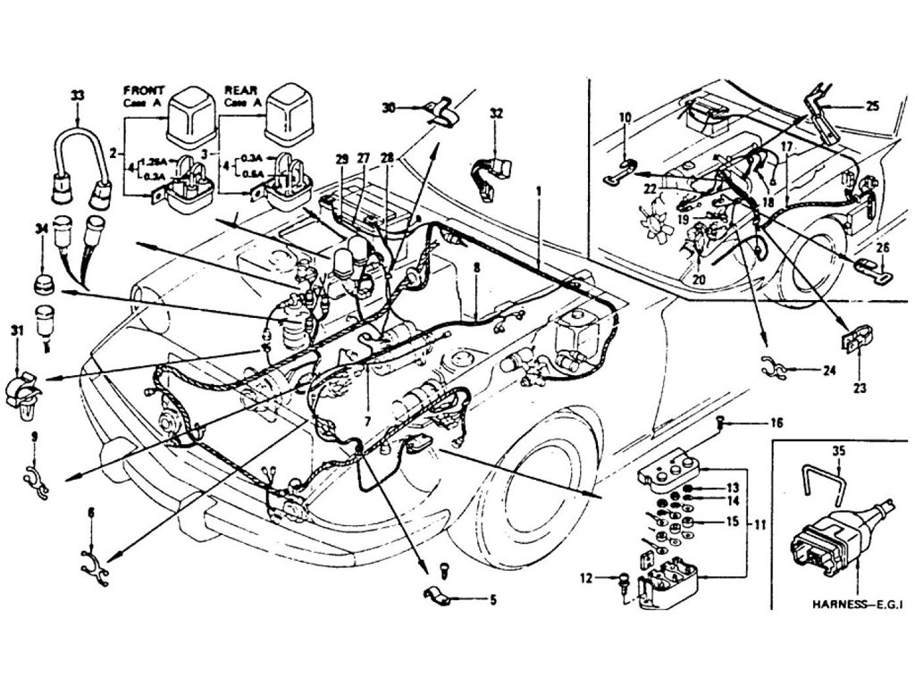 s13 engine bay wiring pinout