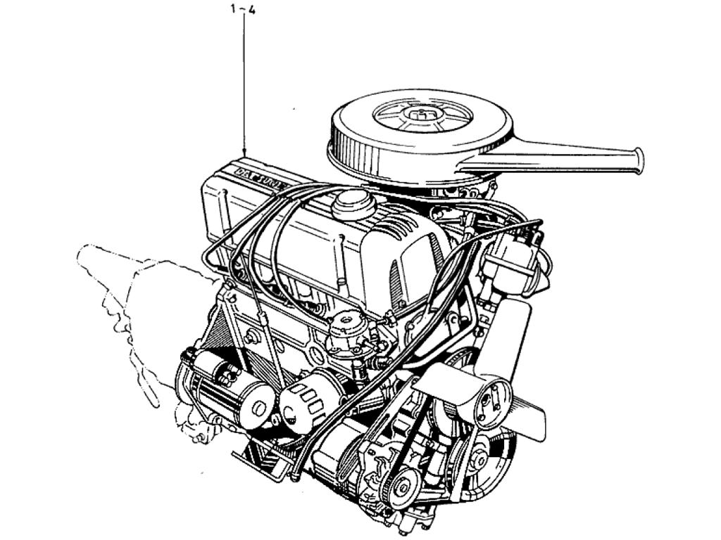 Engine Assemblies Gasket Kit on 1973 Datsun 510
