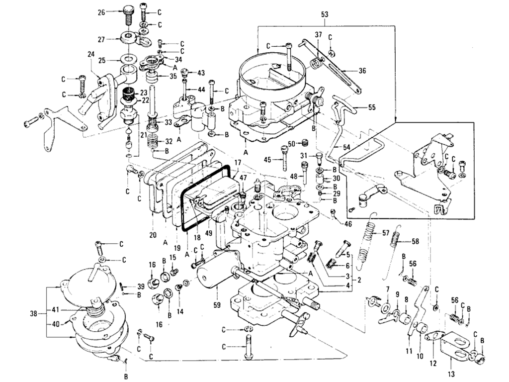 Datsun 510 Carburetor Hitachi L16 Manual From Aug