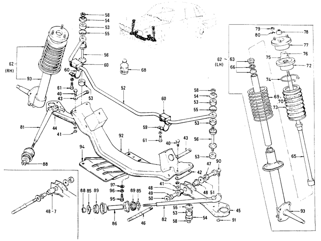Datsun 510 Front Axle Suspension 1973 Wiring Diagram Sedan