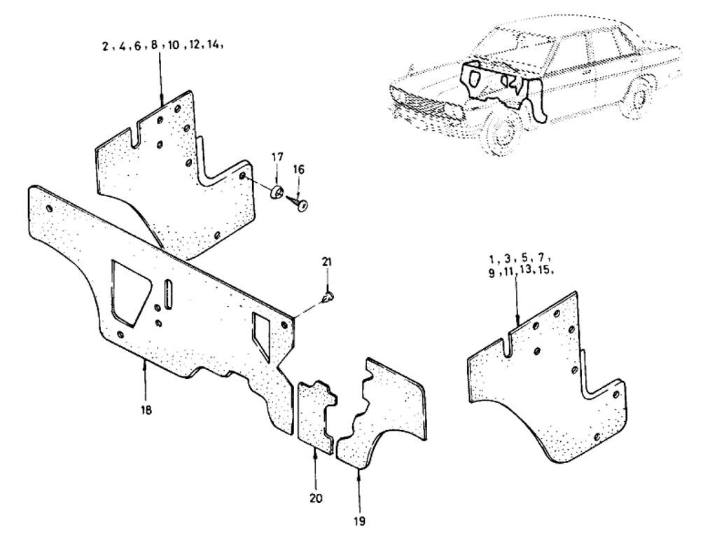 14 on 1973 Datsun 510