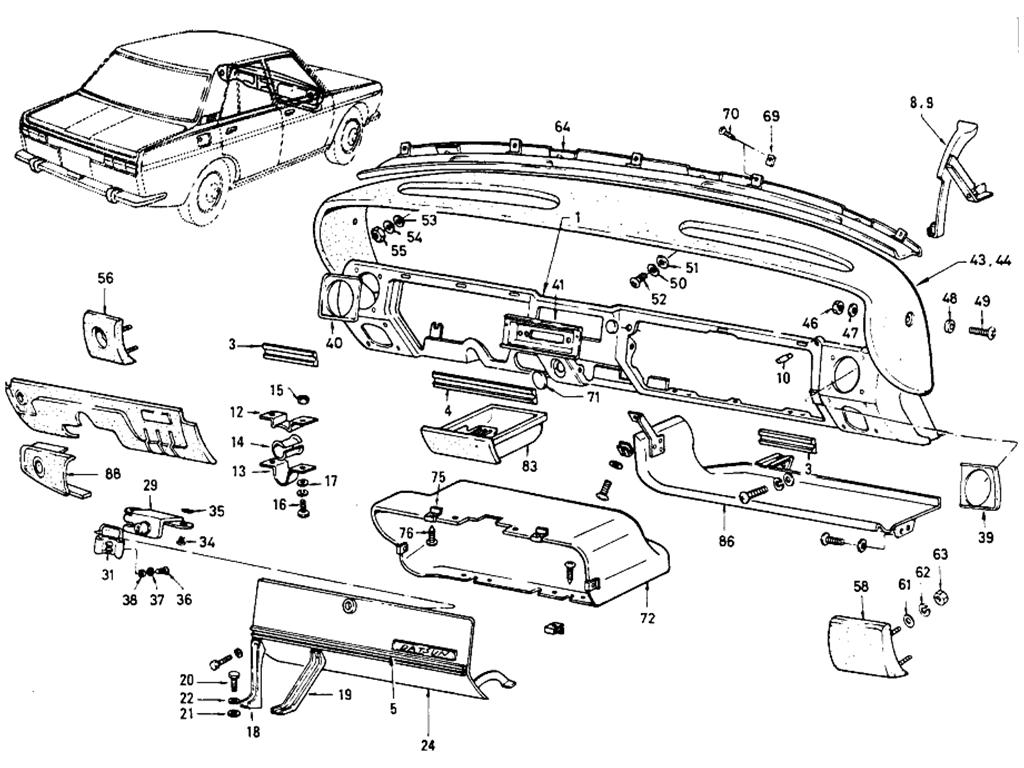 24 on 1973 Datsun 510