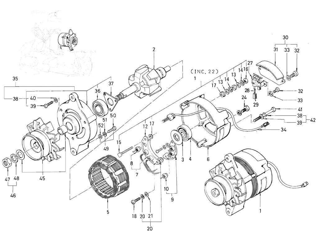 Datsun 521 Alternator Image Information Wiring Diagram Pickup 520