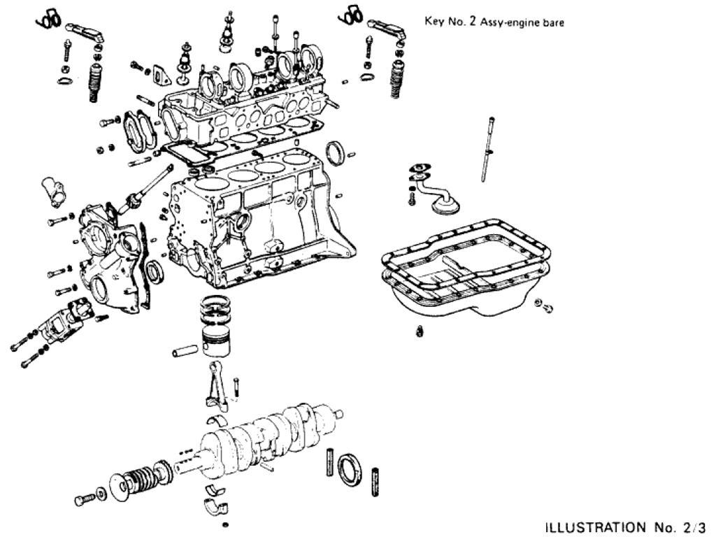 Bare Engine (L20B)