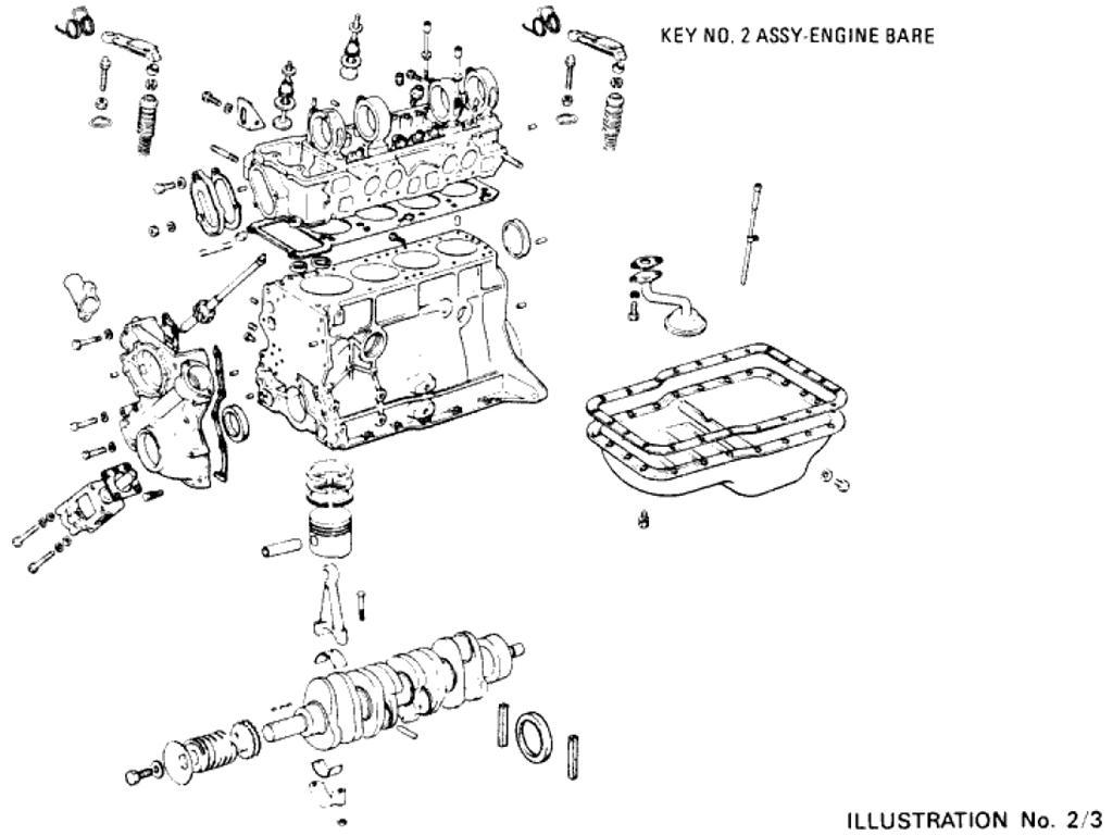 datsun l18 engine  datsun  free engine image for user