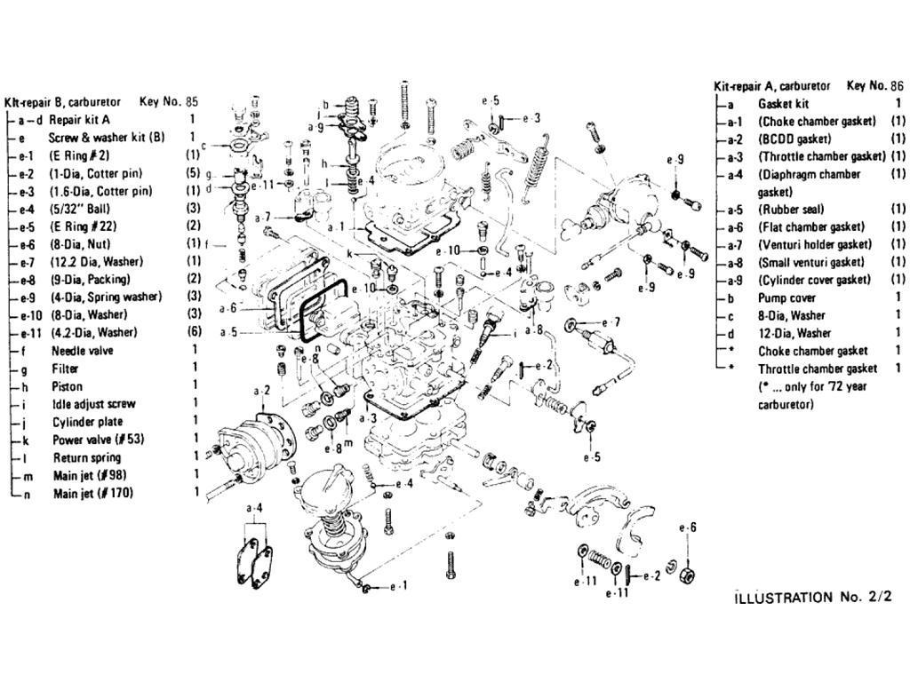 Datsun Pickup (620) Carburetor (L16) (From Sep -´72)