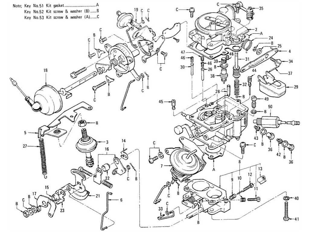 datsun 1200  b110  carburetor  no emission control