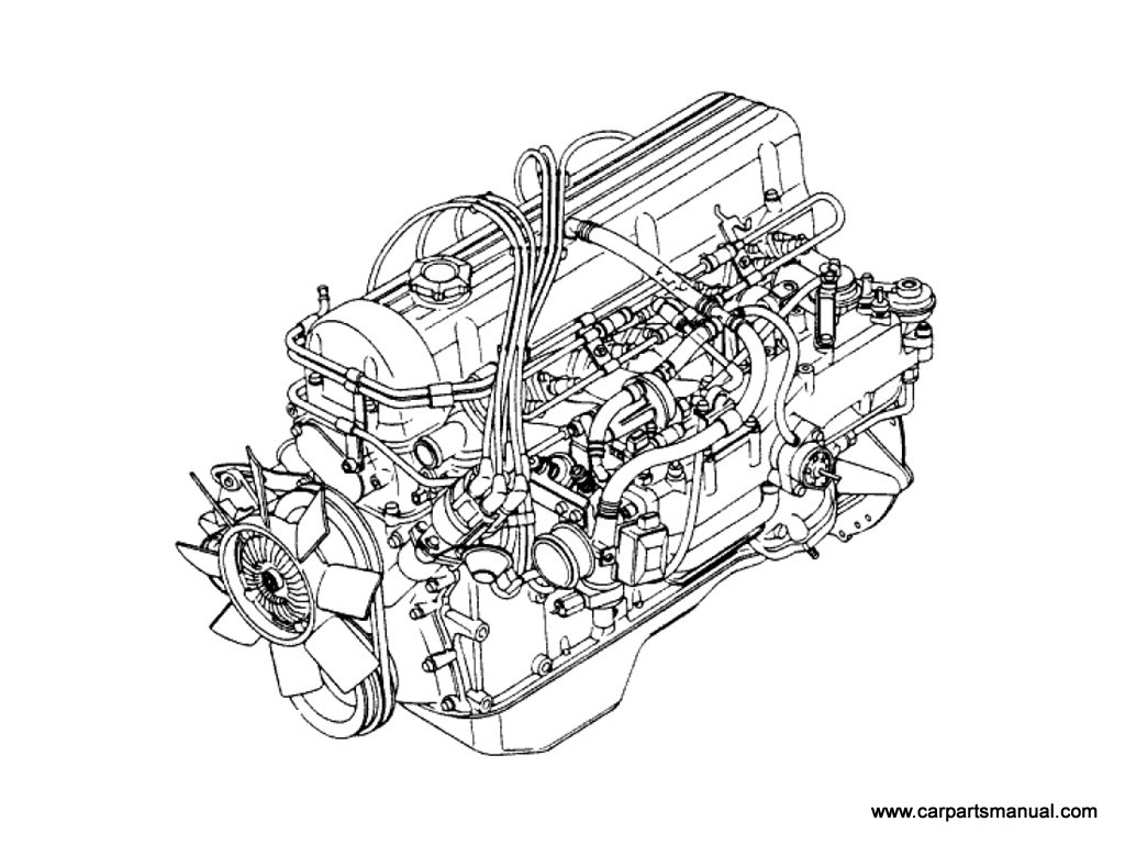 Engine Assembly w/Clutch