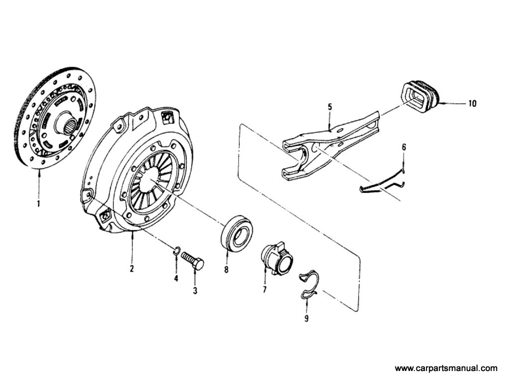 Clutch Cover, Disc & Release Parts