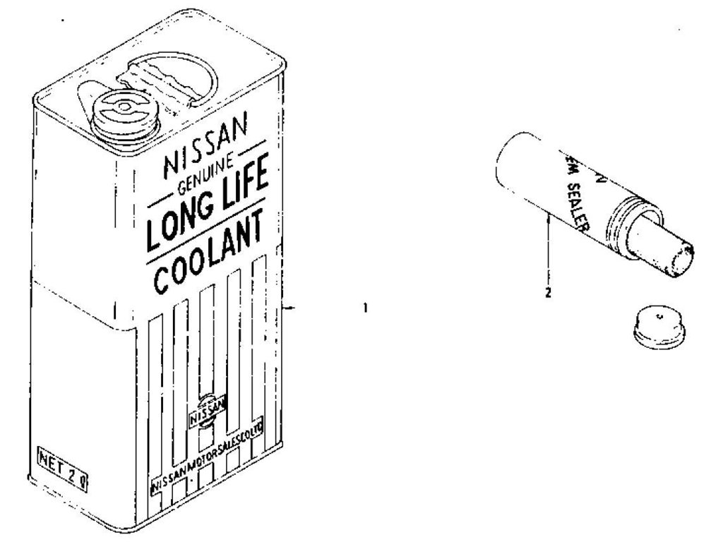 Long Life Coolant & N.C.S Sealer