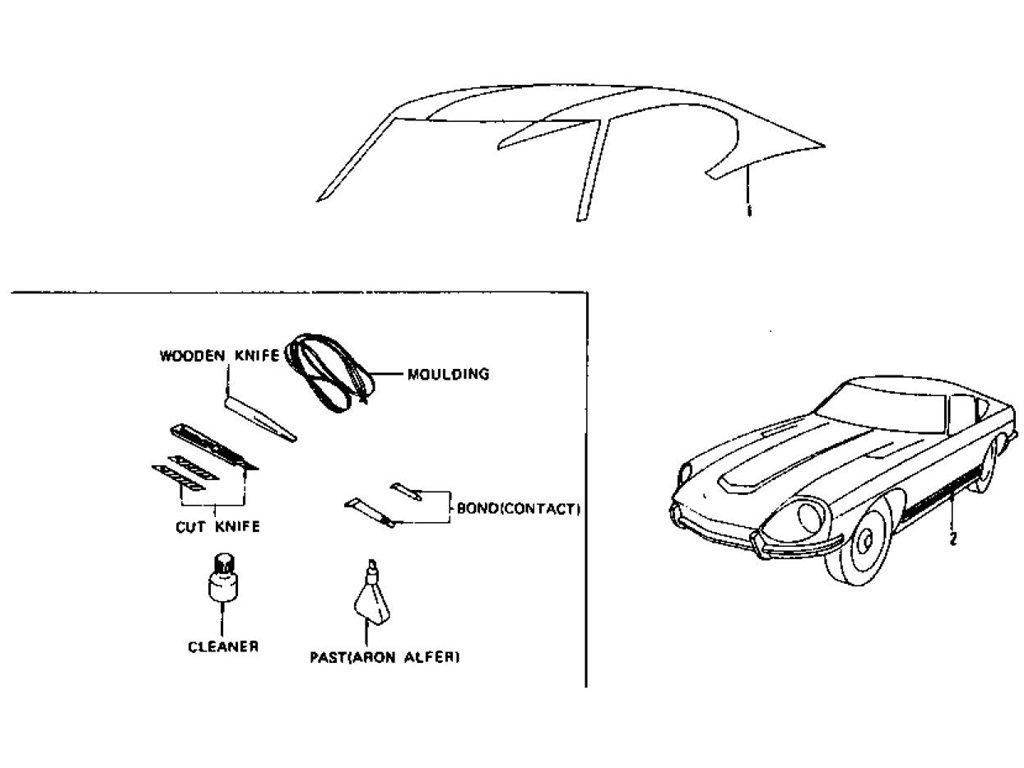 1974 datsun 260z wiring diagram  diagram  auto wiring diagram