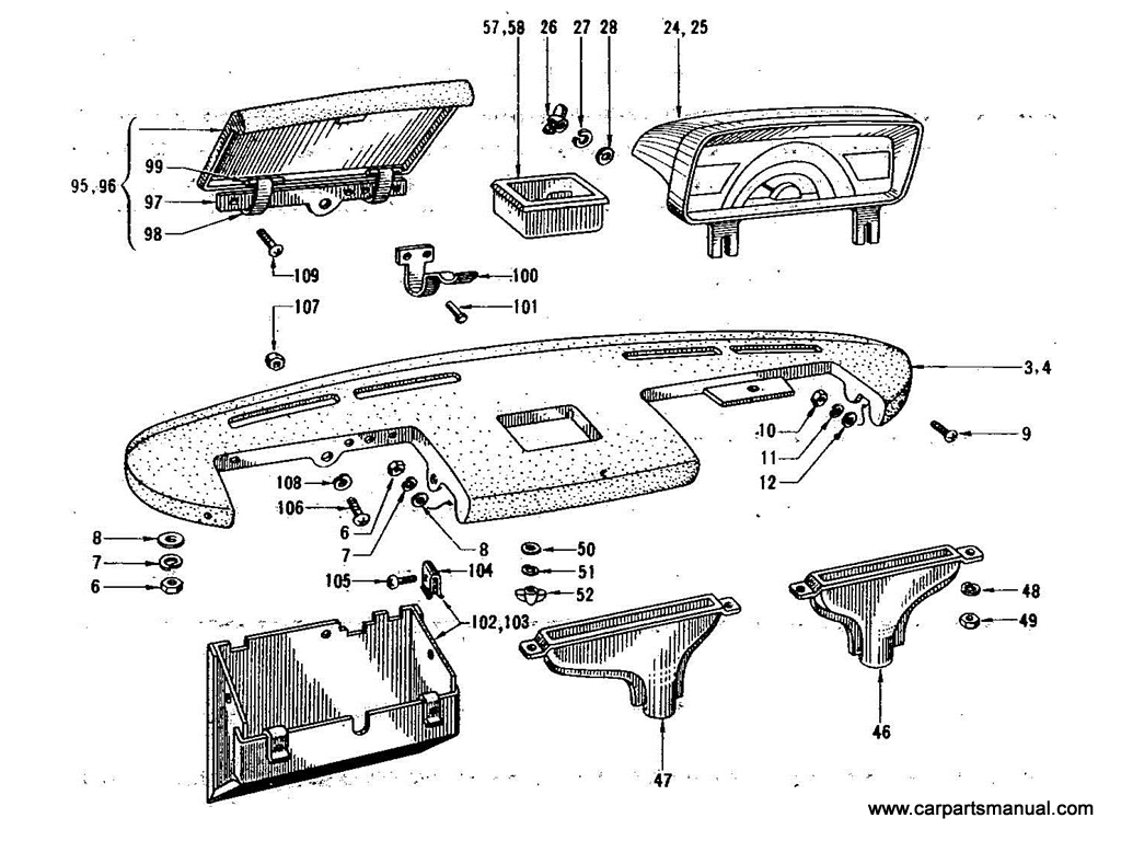Instrument Panel & Fitting [1]
