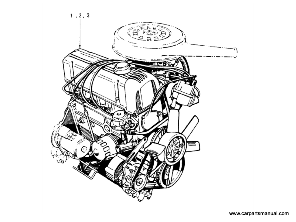 Engine Assembly (L20B)