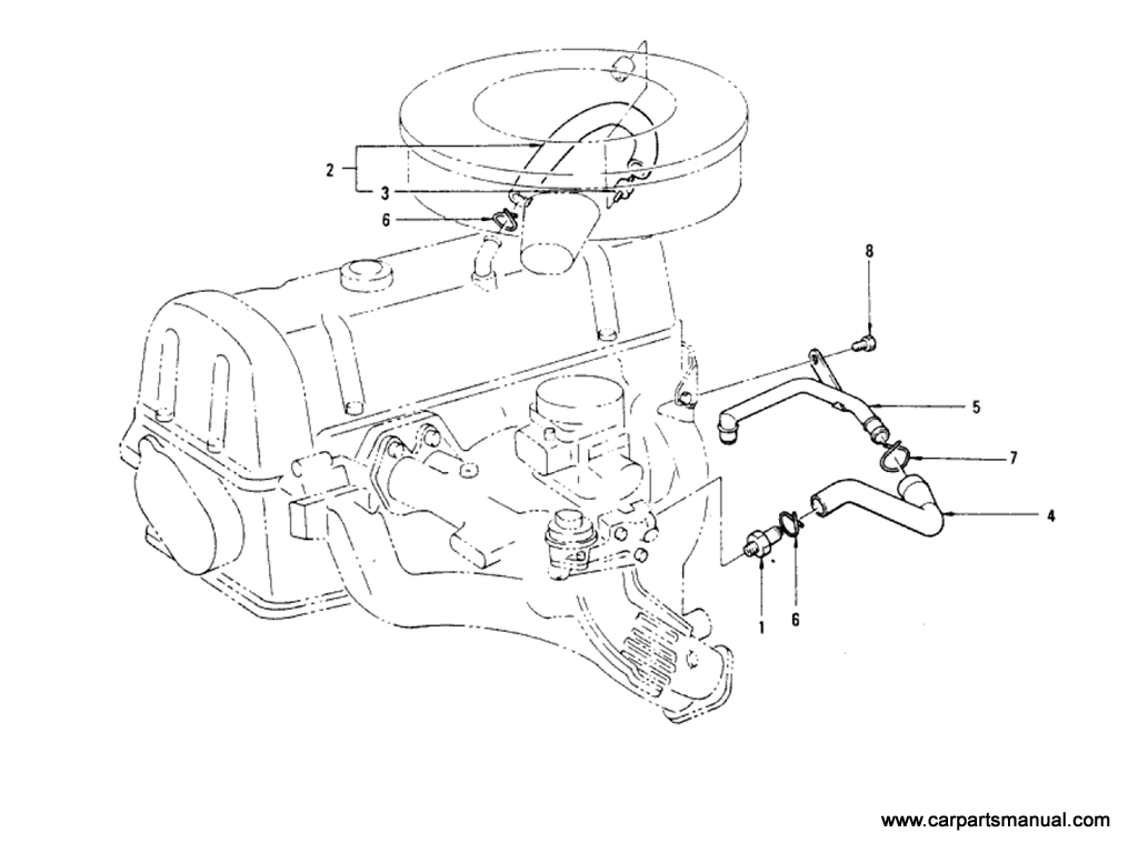 Crankcase Ventilation (L20B) (From Sep-'74)