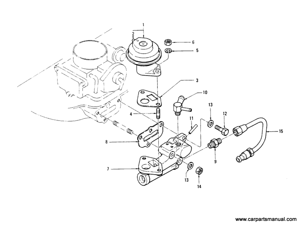 EGR Parts (L20B) (From Sep-'74)