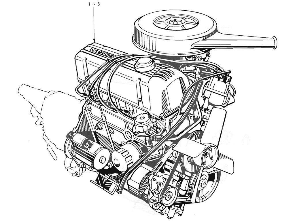 Engine Assemblies (L16) (From Jul.-'69)