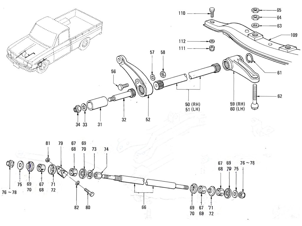 Front Suspension (J13 & L16) (2)