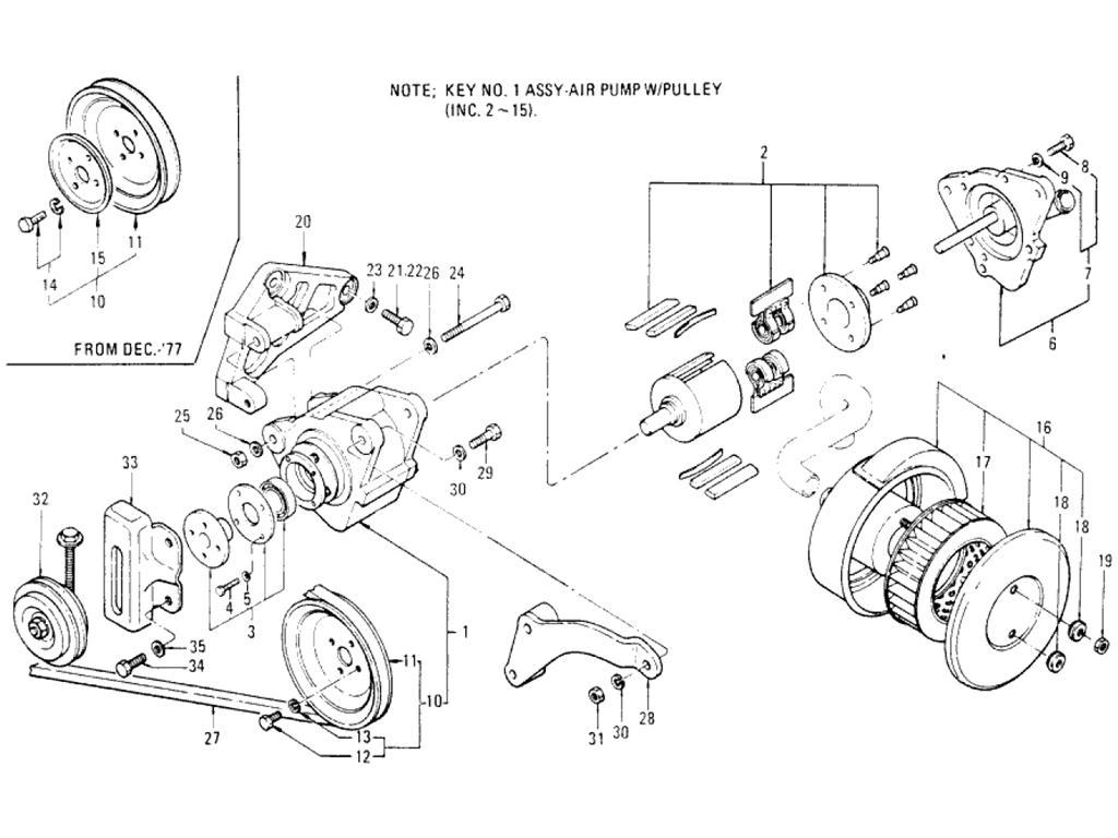 Air Injection Parts (1)