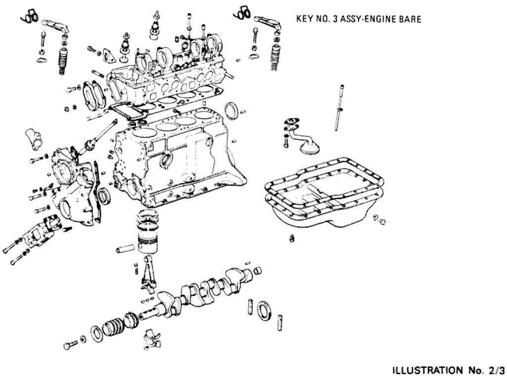 Engine Assembly (L16 Bare)