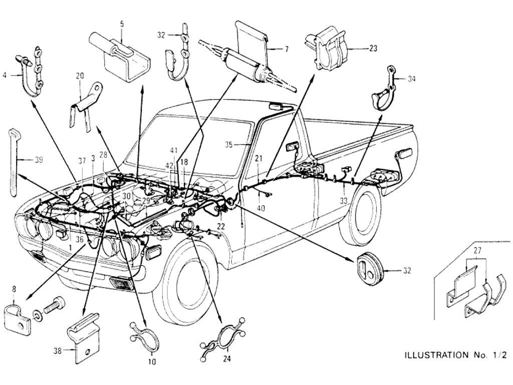 1978 Datsun Pickup Wiring Diagram Schematic Diagrams 620 For Distributor 76 Wire Nissan Truck