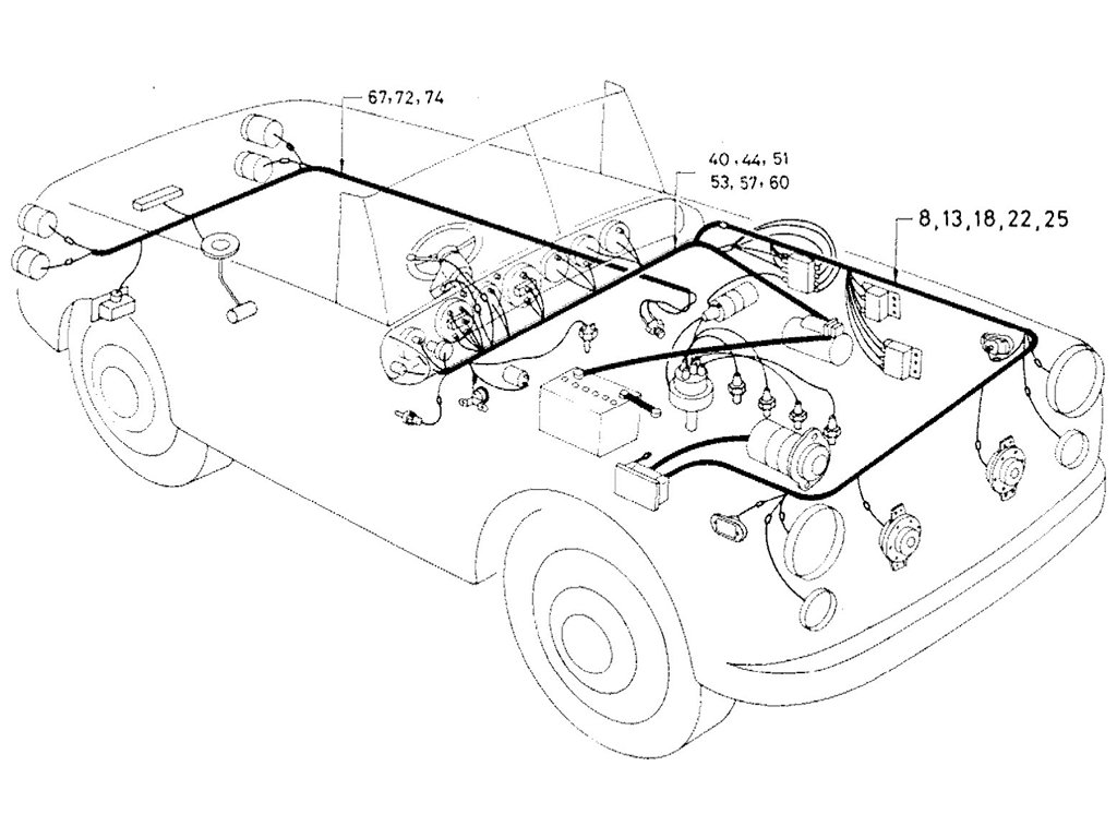 Datsun Sports 1600 2000 Wiring Diagram From July 1969