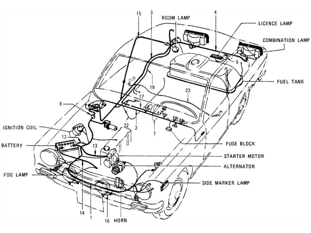 1977 280z Fuel Pump Wiring Diagram Electrical Diagrams 1976 Corvette Harness Datsun 1200 B110