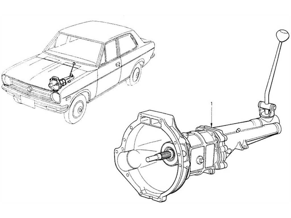 Transmission Assembly (4 Speed)
