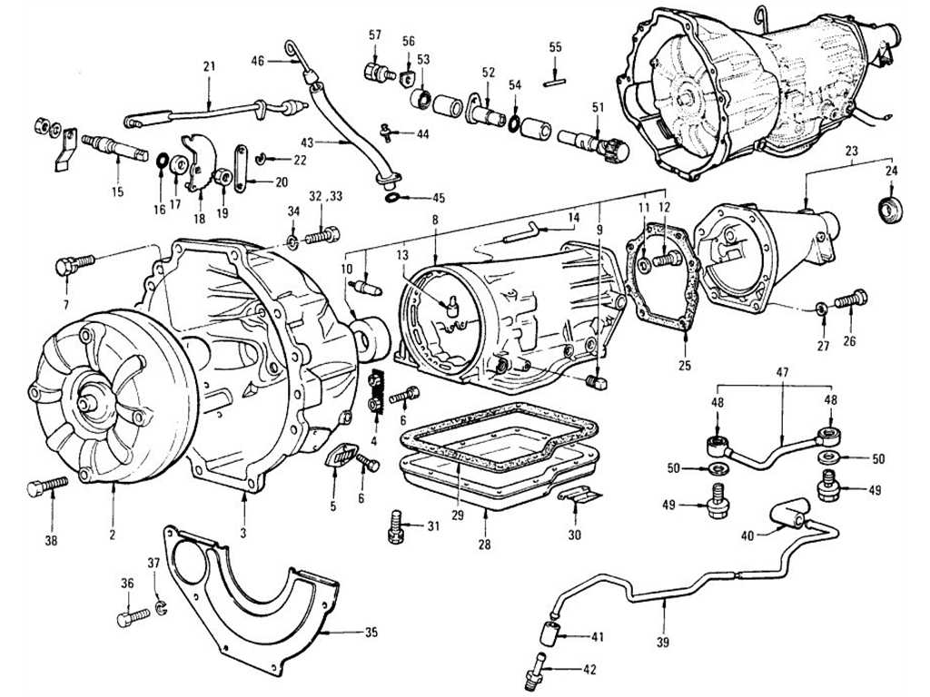Transmission Case & Fitting (Automatic 3N71B)