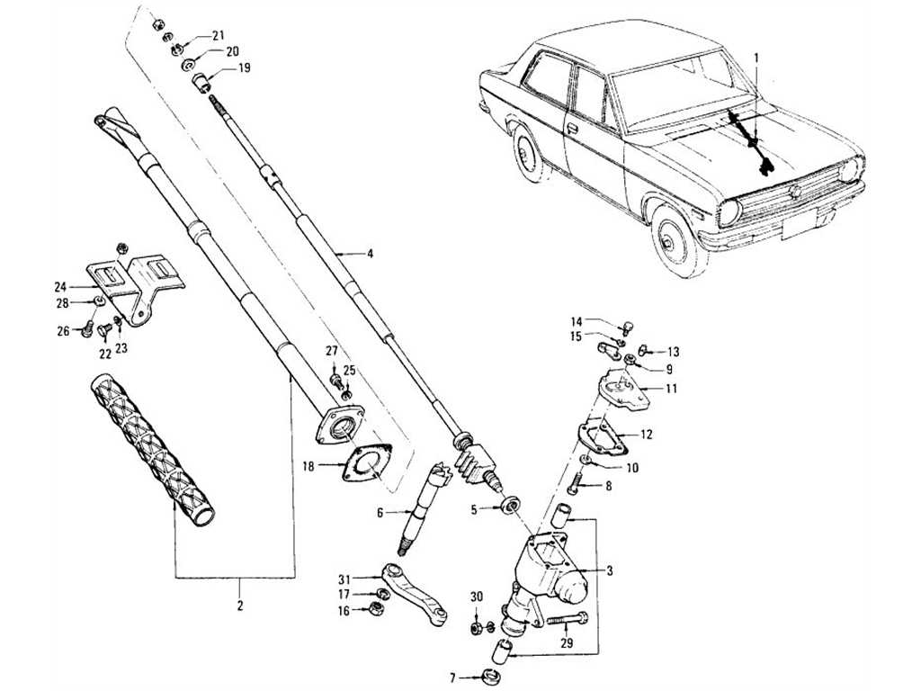 Steering Gear (Collapsible)