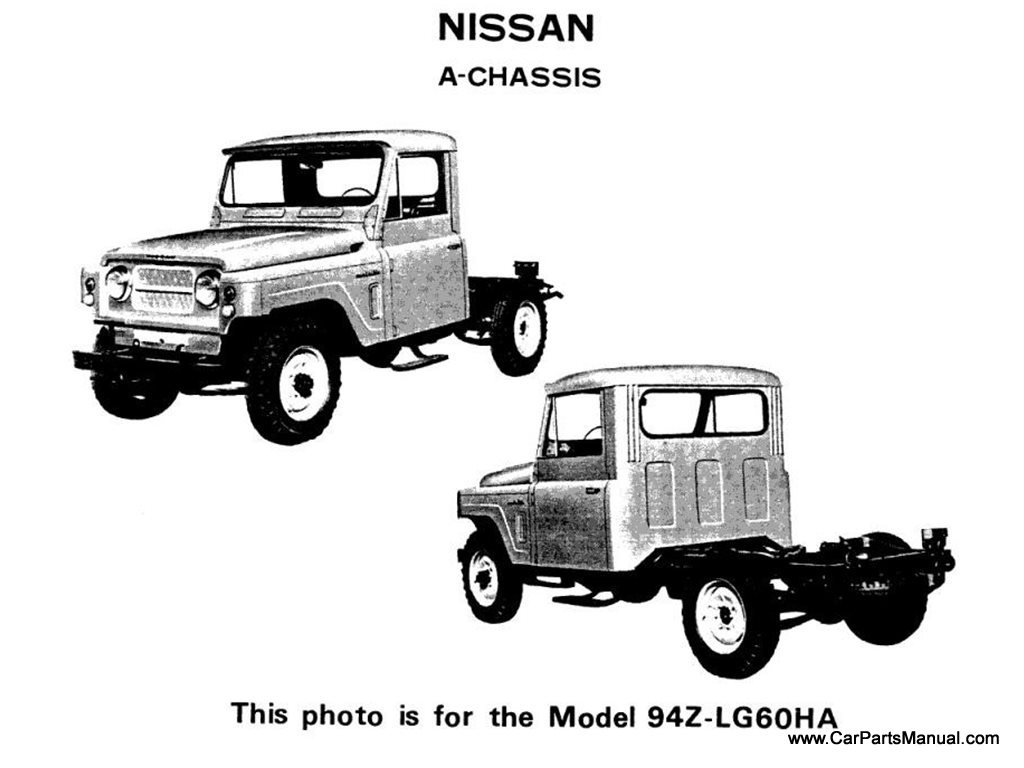 Nissan A-Chassis (Model 94Z-LG60HA)