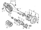 Rear Axle Housing & Shaft