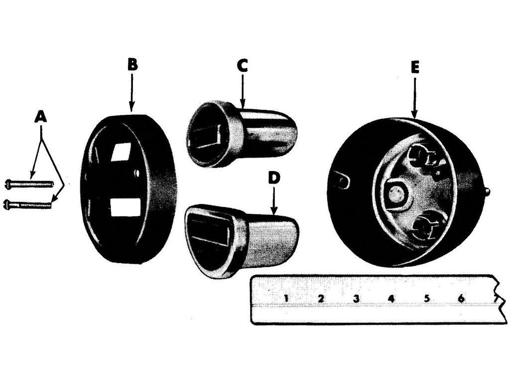 TAIL AND STOP LIGHT ASSEMBLY