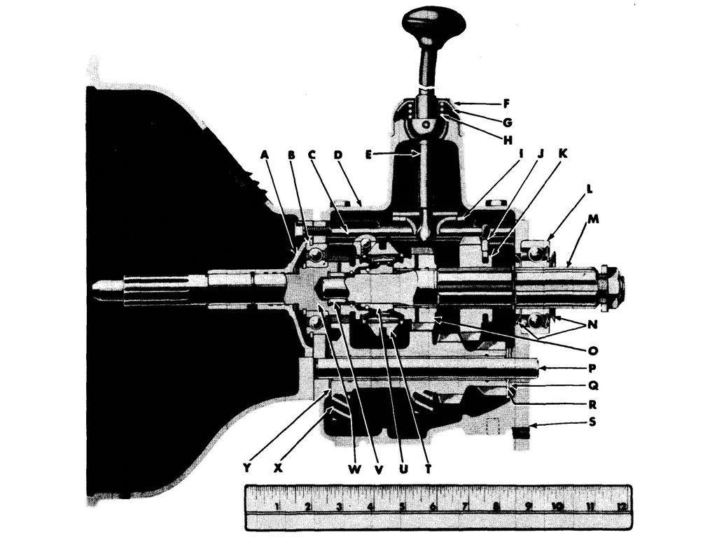 TRANSMISSION ASSEMBLY -CROSS-SECTIONAL VIEW